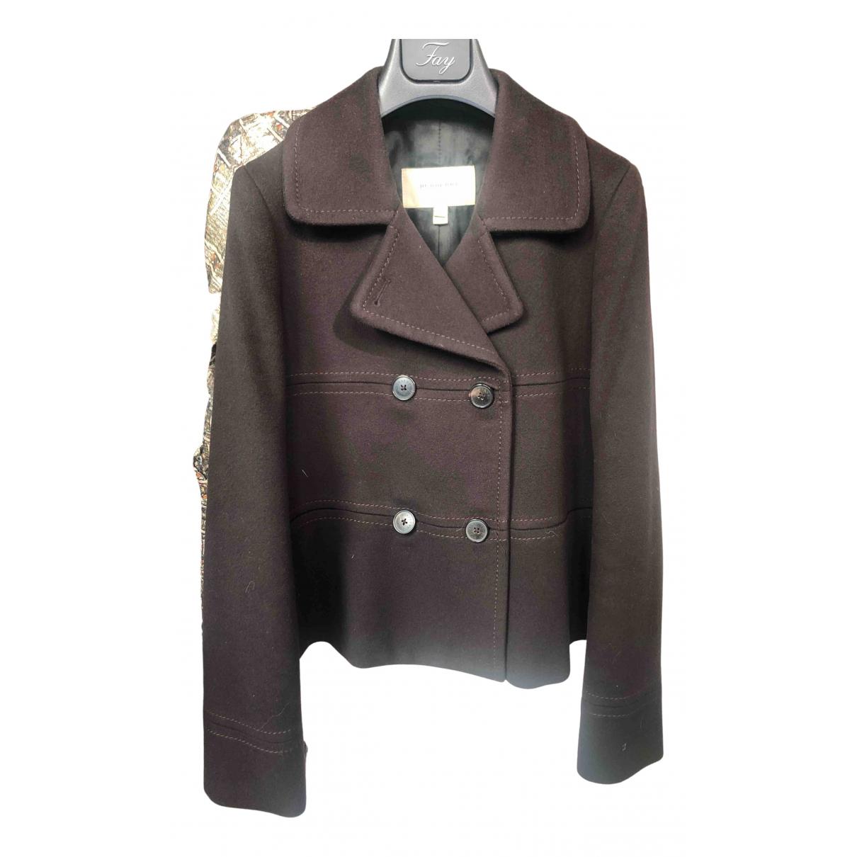 Burberry - Veste   pour femme en cachemire - marron