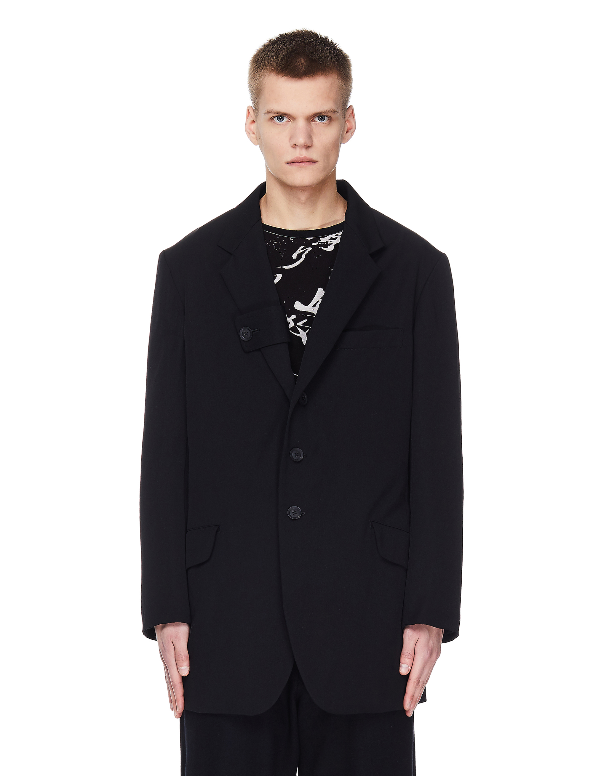 Yohji Yamamoto Wool Long Jacket