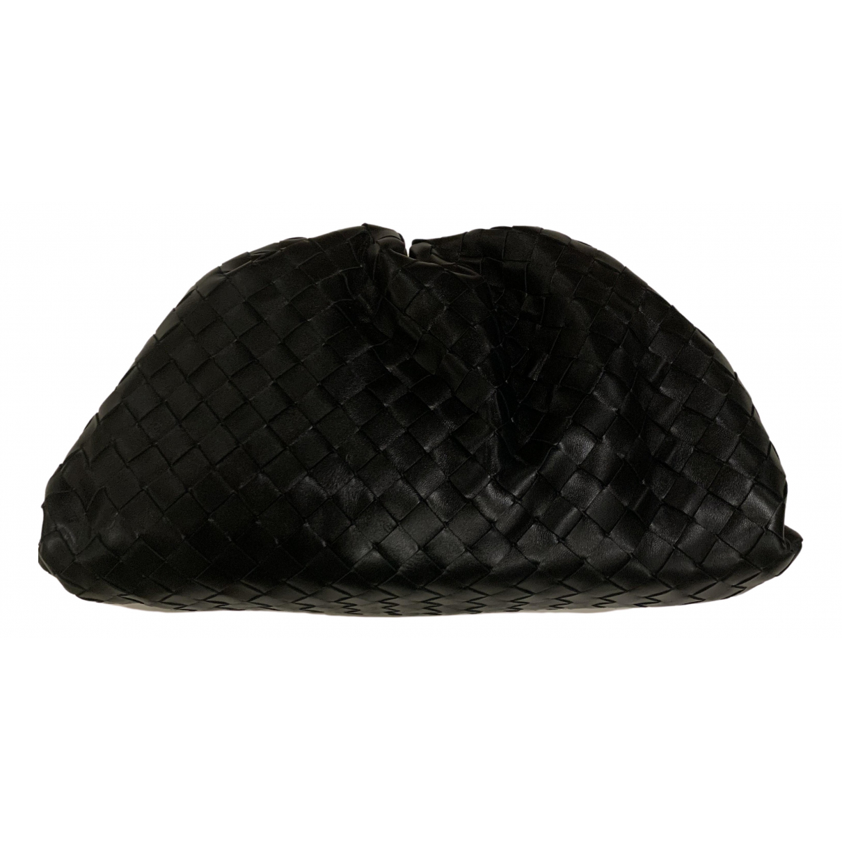 Bottega Veneta Pouch Black Leather Clutch bag for Women \N