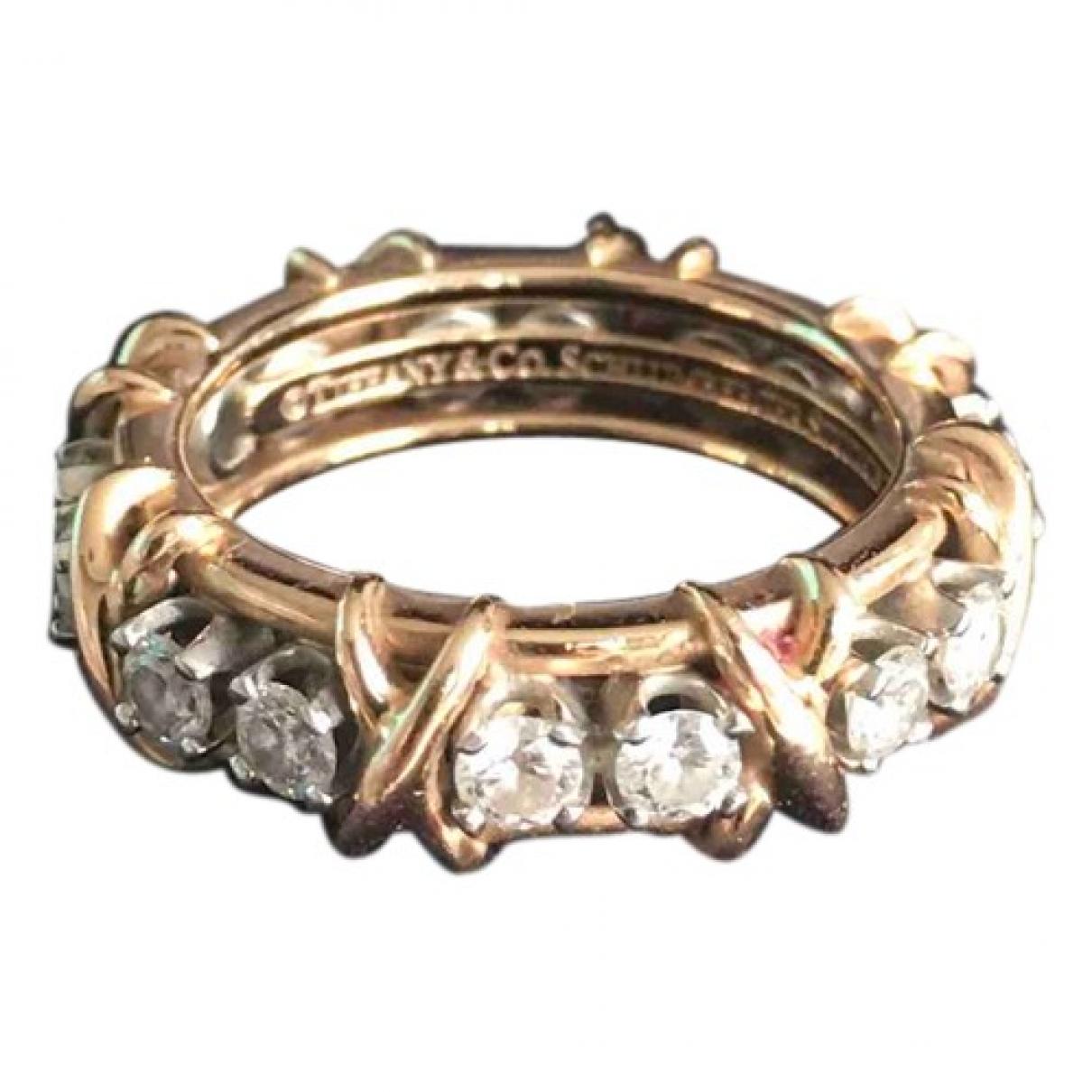 Tiffany & Co - Bague Schlumberger pour femme en or rose - dore