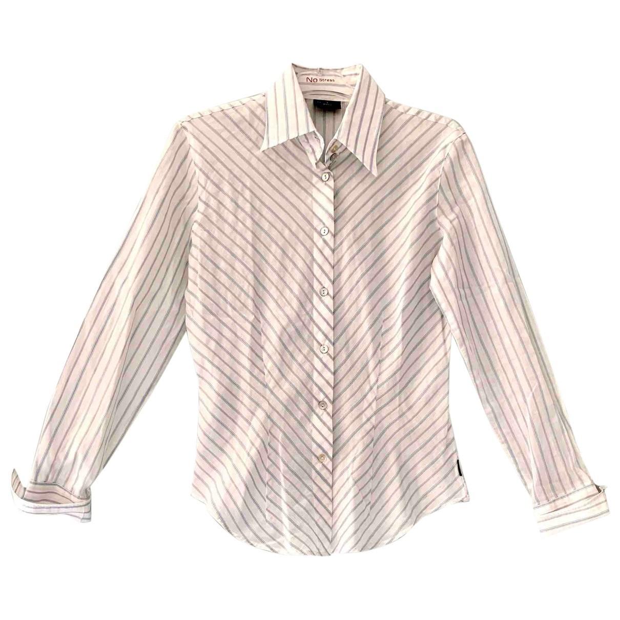 Trussardi Jean - Top   pour femme en coton - multicolore