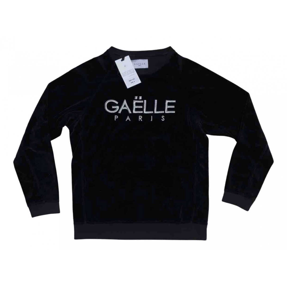 Gaelle Paris \N Black Cotton Knitwear & Sweatshirts for Men S International