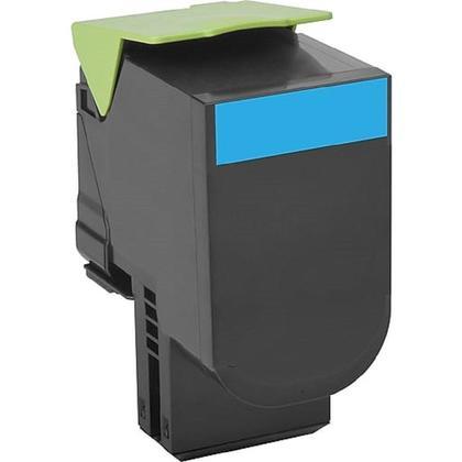 Compatible Lexmark 71B10C0 Cyan Toner Cartridge - Economical Box