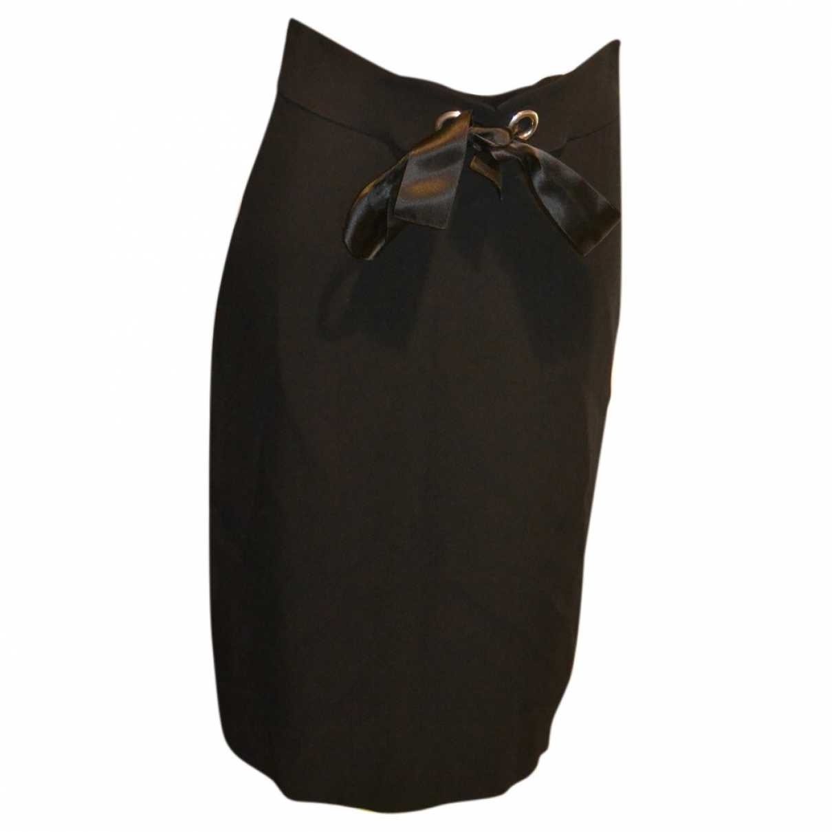 Alexander Mcqueen \N Black skirt for Women 42 IT