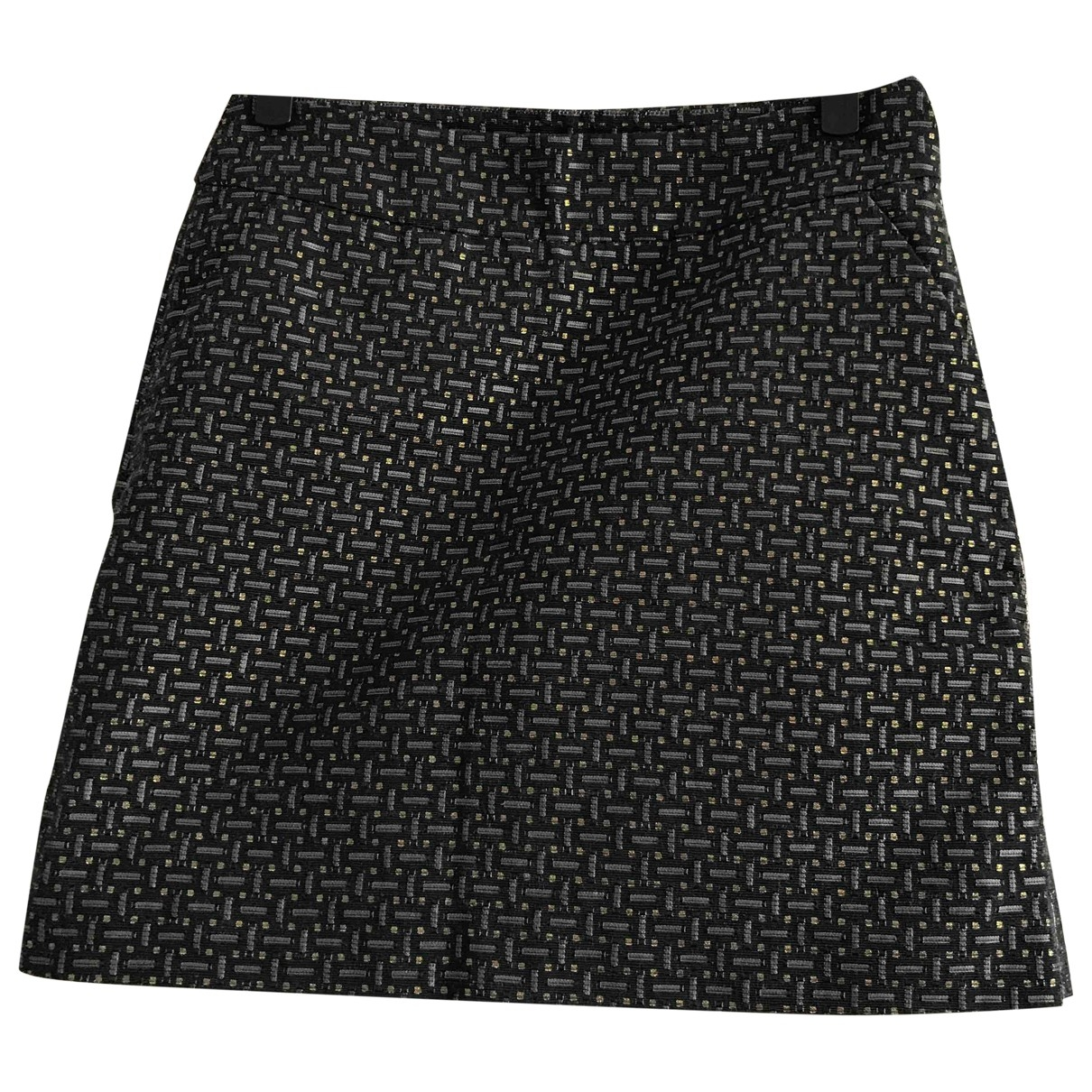 Trussardi \N Black Cotton - elasthane skirt for Women 42 IT