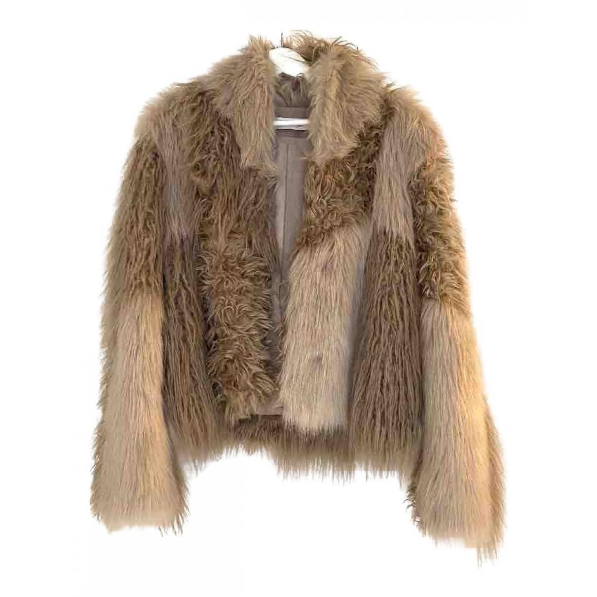 Rodebjer \N Ecru Faux fur jacket for Women M International