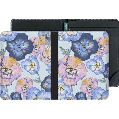 tolino vision 3 HD eBook Reader Huelle - Pretty Pansy von Stephanie Breeze