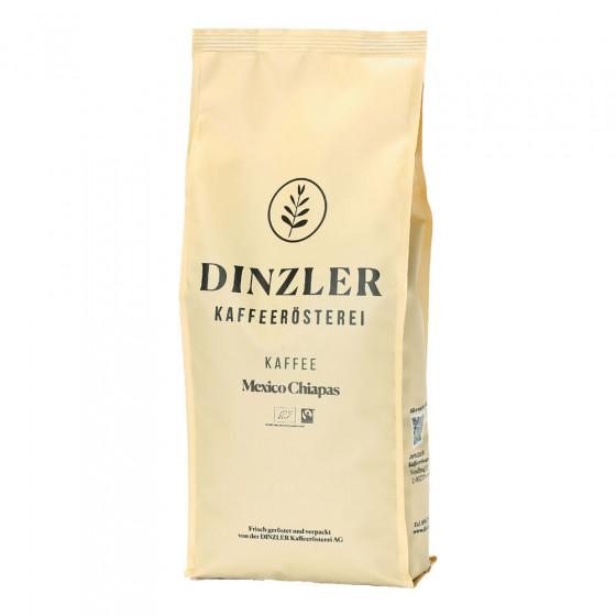 "Kaffeebohnen Dinzler Kaffeerosterei ""Mexico Chiapas Organico Fairtrade"", 1 kg"