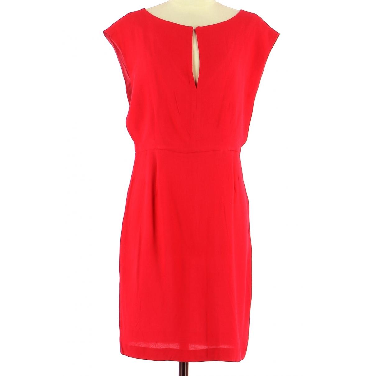 Tara Jarmon \N Kleid in  Rot Viskose