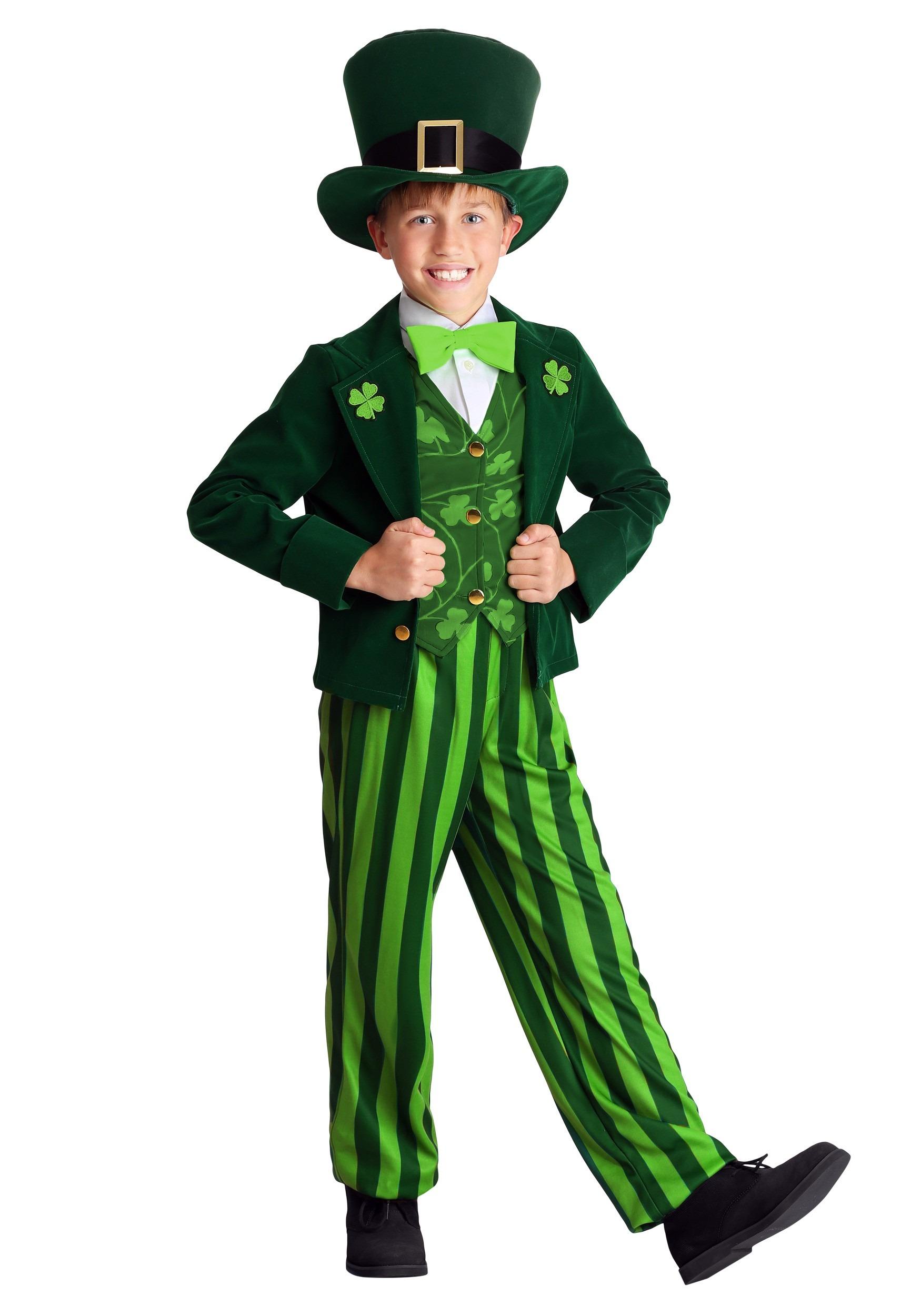 Child's Leprechaun Costume