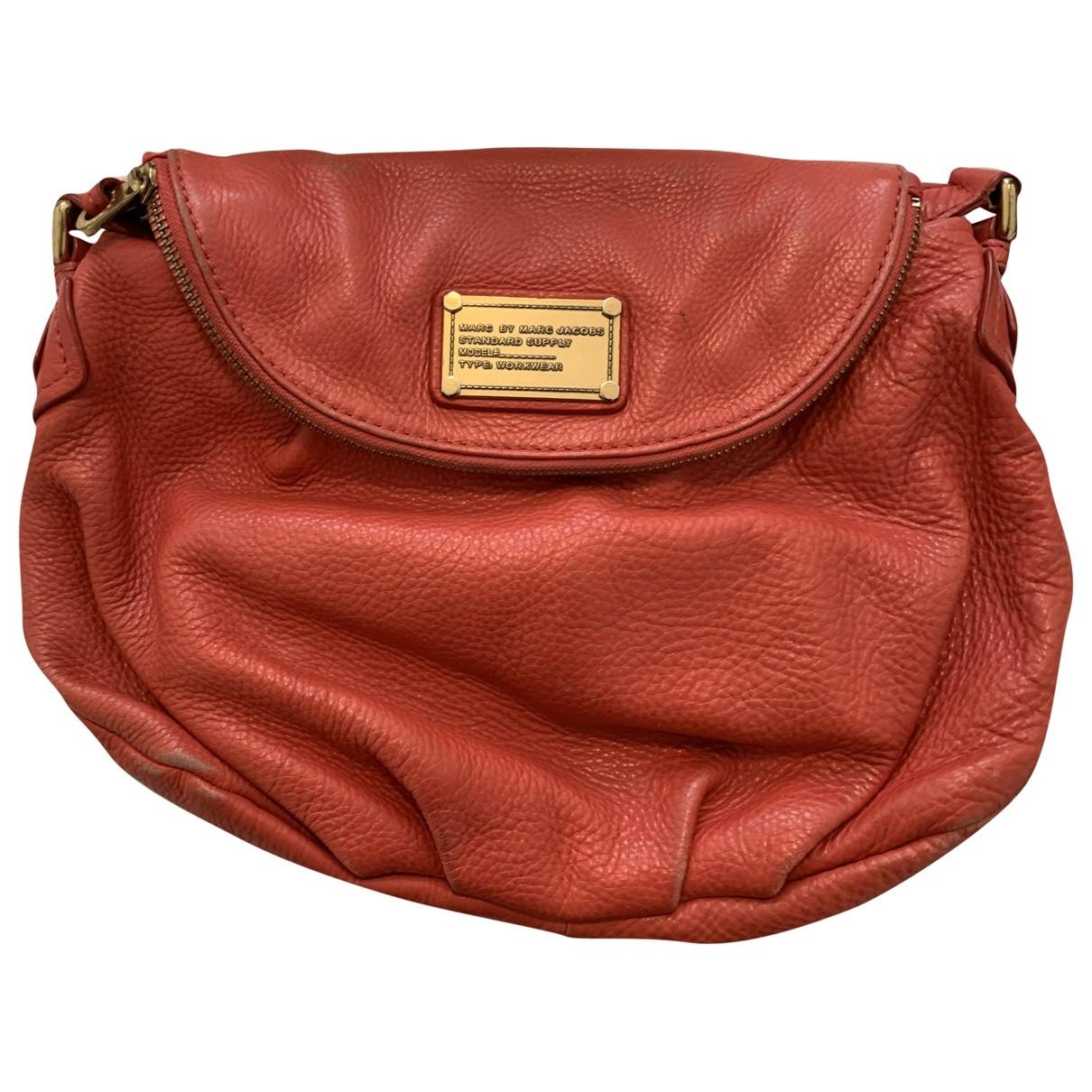 Marc By Marc Jacobs \N Orange Leather handbag for Women \N