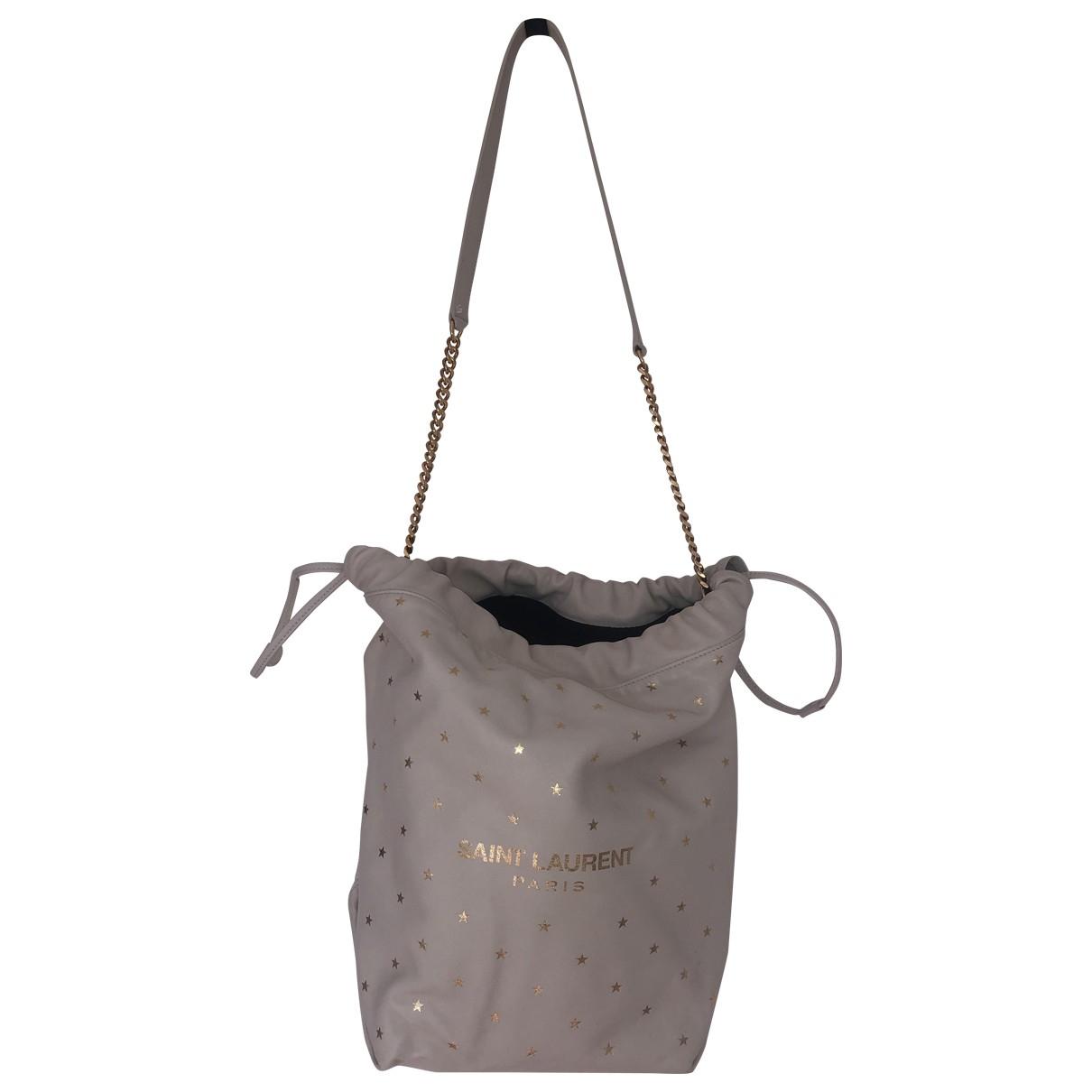 Saint Laurent Teddy Ecru Leather handbag for Women N
