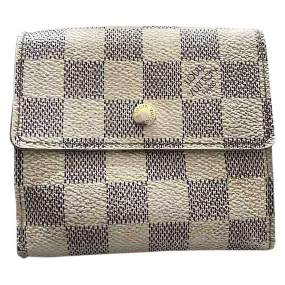 Louis Vuitton Victorine White Cloth wallet for Women \N