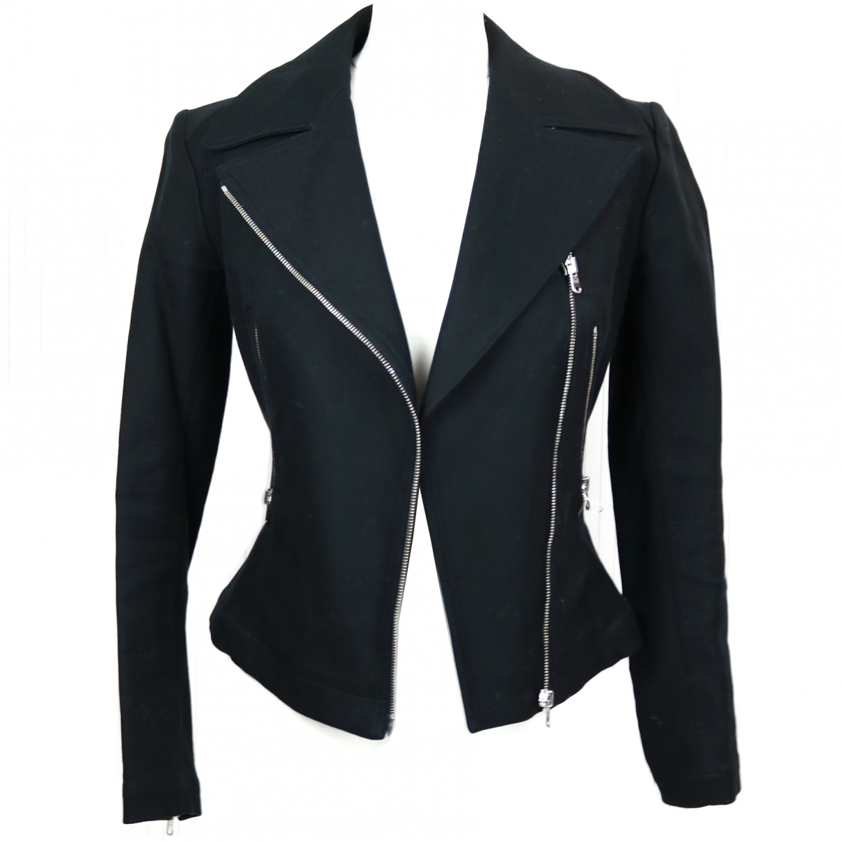 Alaia - Veste   pour femme en coton - noir