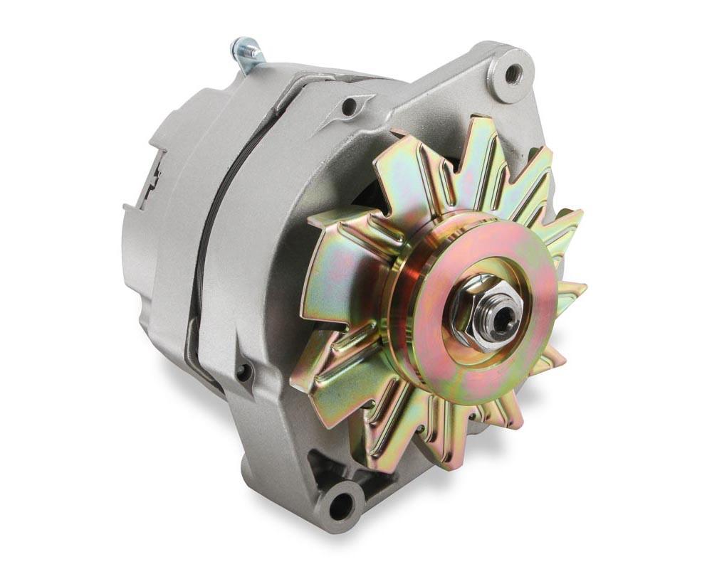 Mr. Gasket 1-Wire Alternator - 100 Amp - Natural Finish