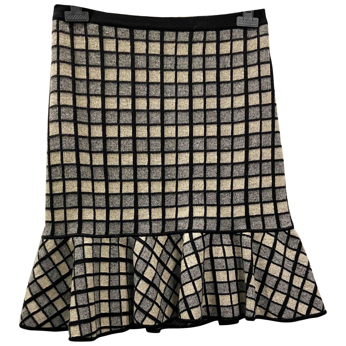 Kenzo \N Grey Wool skirt for Women 42 FR
