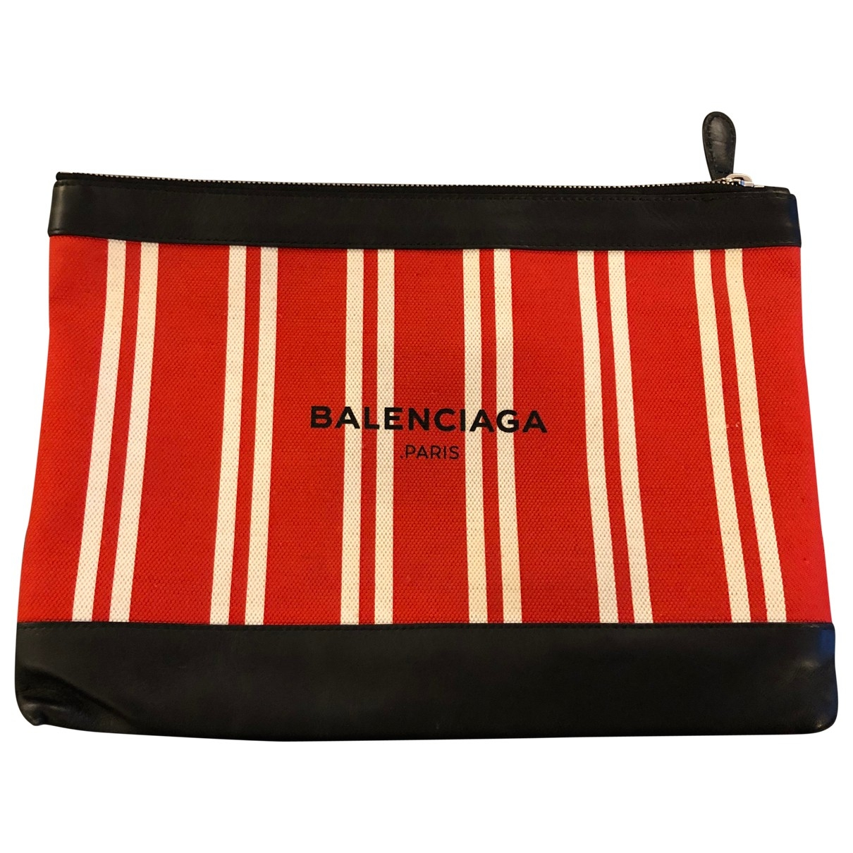 Balenciaga \N Red Cloth Clutch bag for Women \N