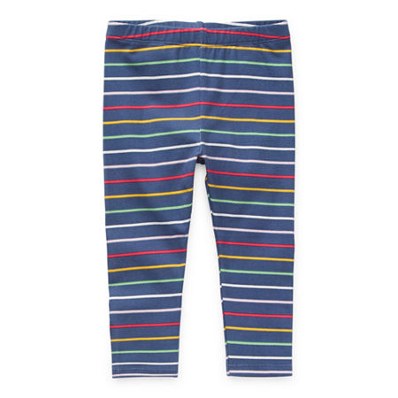 Okie Dokie Baby Girls Legging, 9 Months , Blue