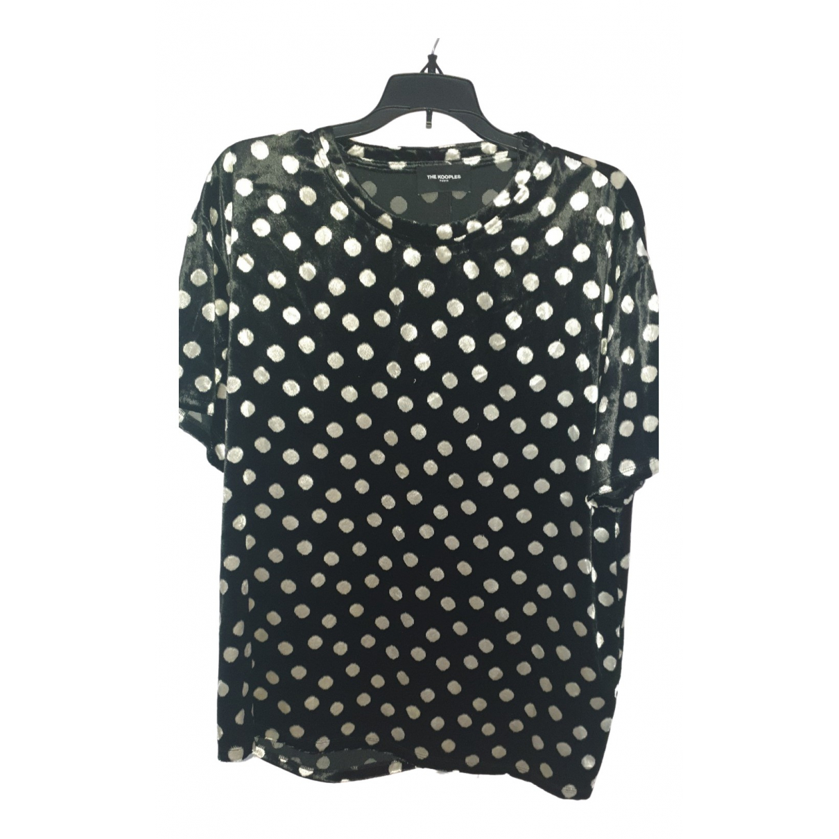 The Kooples \N Blue Cotton  top for Women 3 0-5