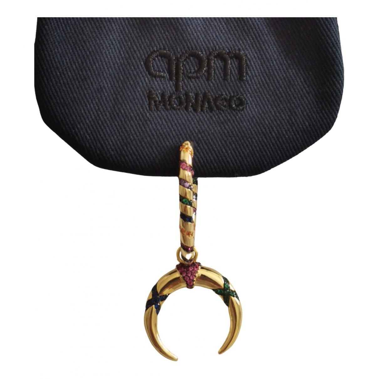 Apm Monaco \N OhrRing in  Gold Silber