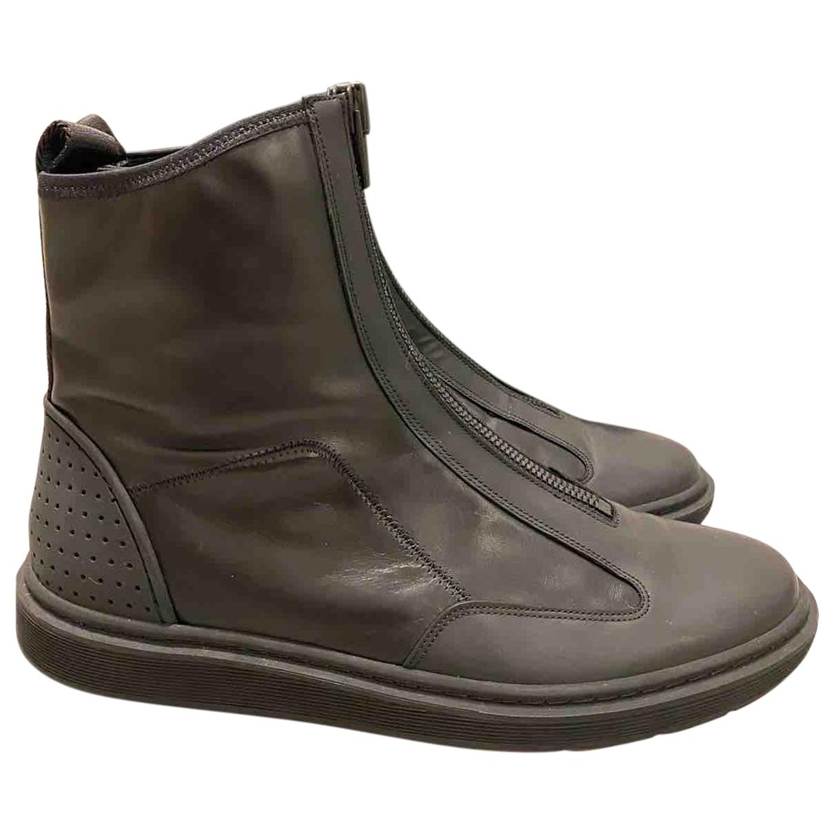 Alexander Wang Pour H&m \N Sneakers in  Schwarz Leder