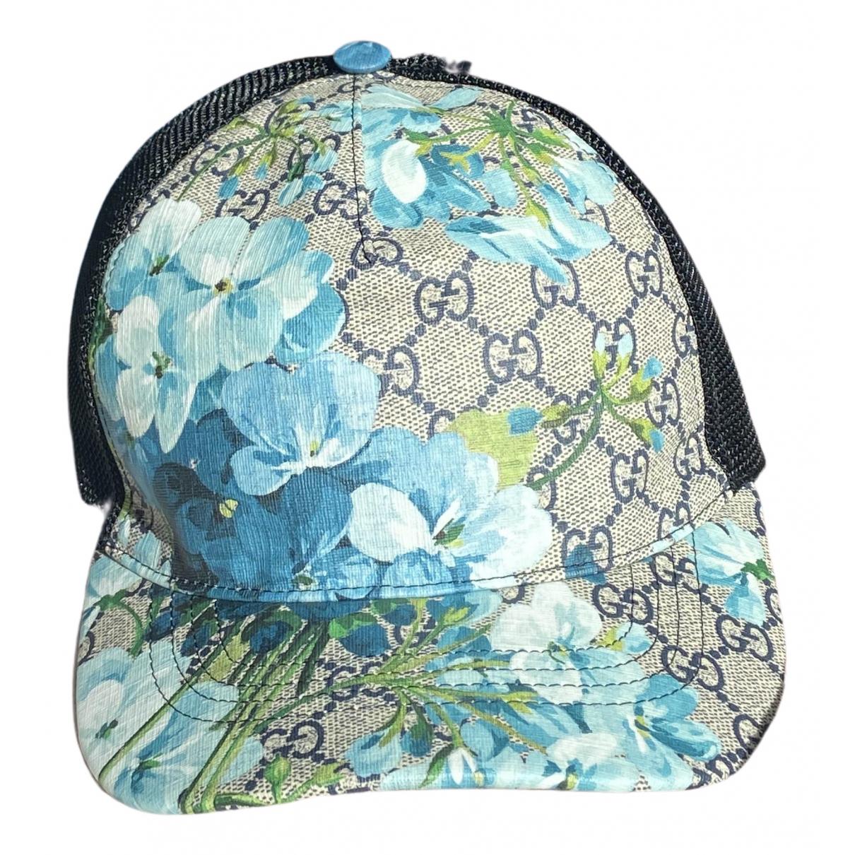 Gucci - Chapeau & Bonnets   pour homme - bleu