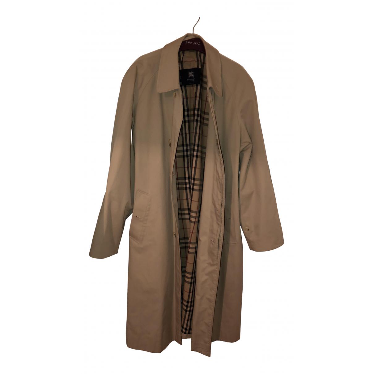 Burberry N Beige Cotton coat  for Men 48 FR