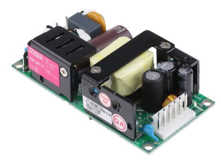 TRACOPOWER , 60W Embedded Switch Mode Power Supply SMPS, 12V dc, Open Frame