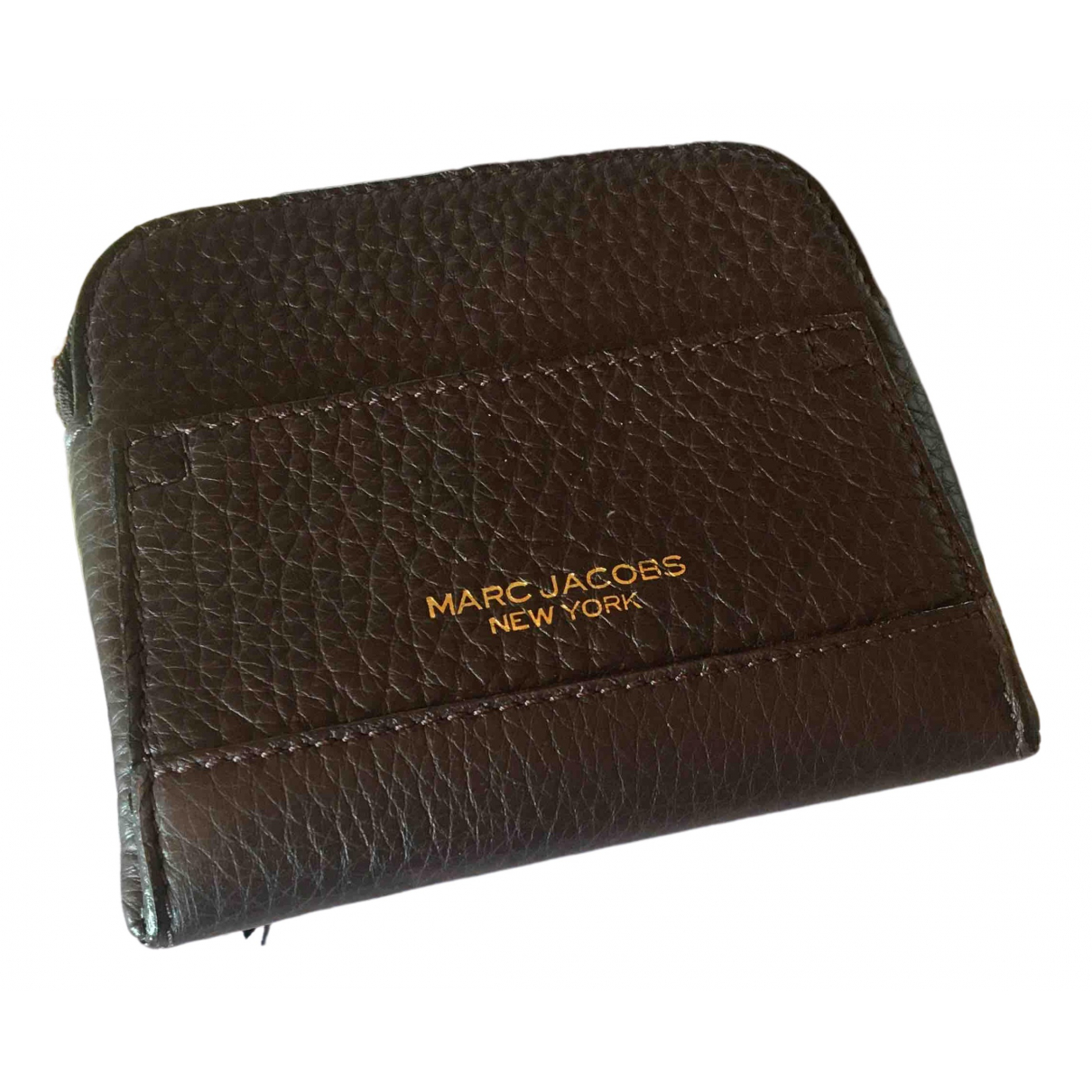 Marc Jacobs \N Brown Leather Purses, wallet & cases for Women \N