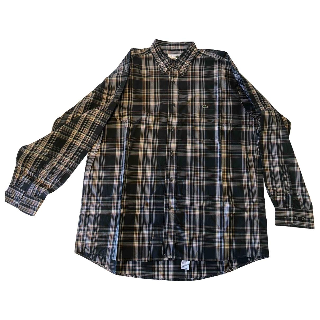 Lacoste \N Hemden in  Gruen Baumwolle