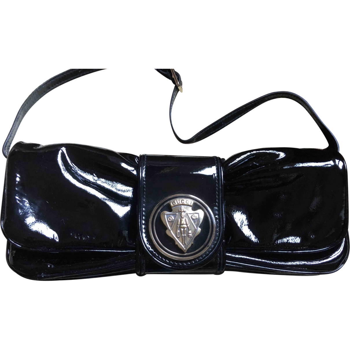 Gucci Hysteria Black Patent leather Clutch bag for Women \N
