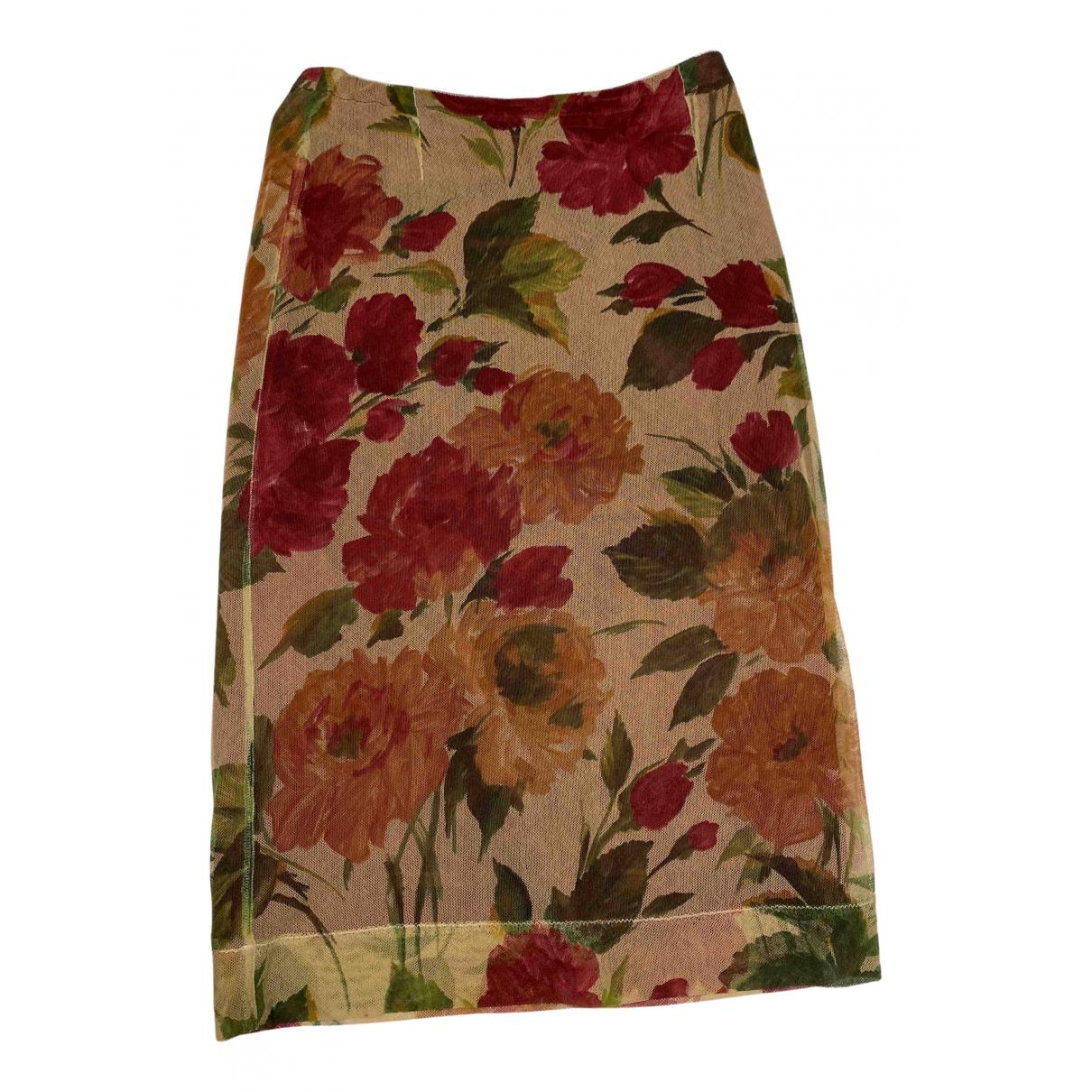 Dolce & Gabbana N Multicolour Cotton skirt for Women 40 IT