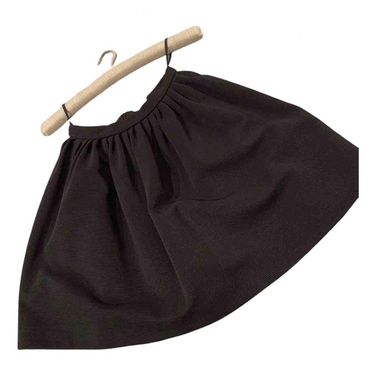 Miu Miu \N Black Cotton - elasthane skirt for Women 36 IT