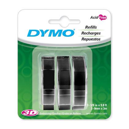 DYMO 1741670 etiquettes a embosser originales LT 3/8