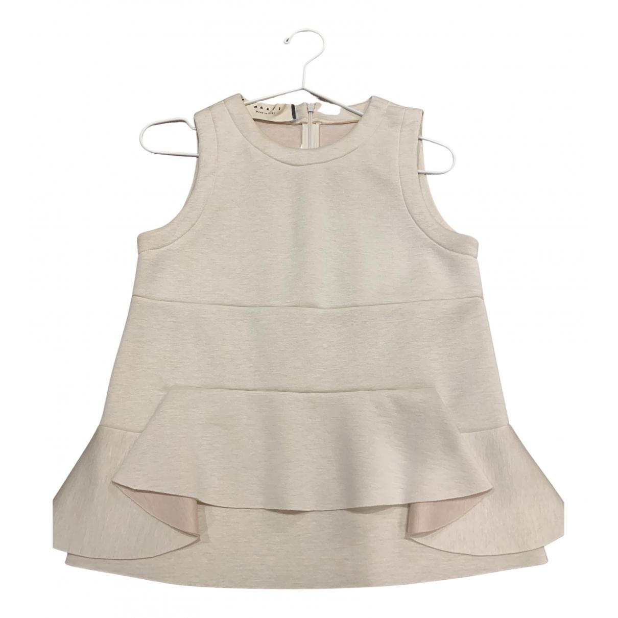 Marni - Top   pour femme - blanc