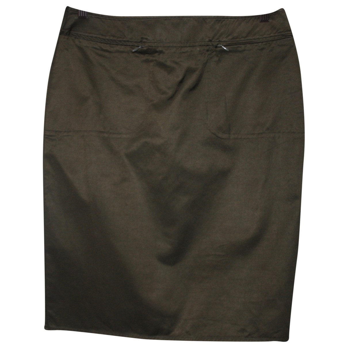 Max & Co \N Green Cotton skirt for Women 46 IT