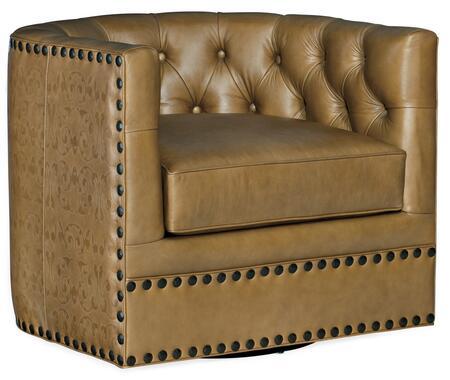 CC106-SW-086 Lennox Tufted Swivel Chair  in