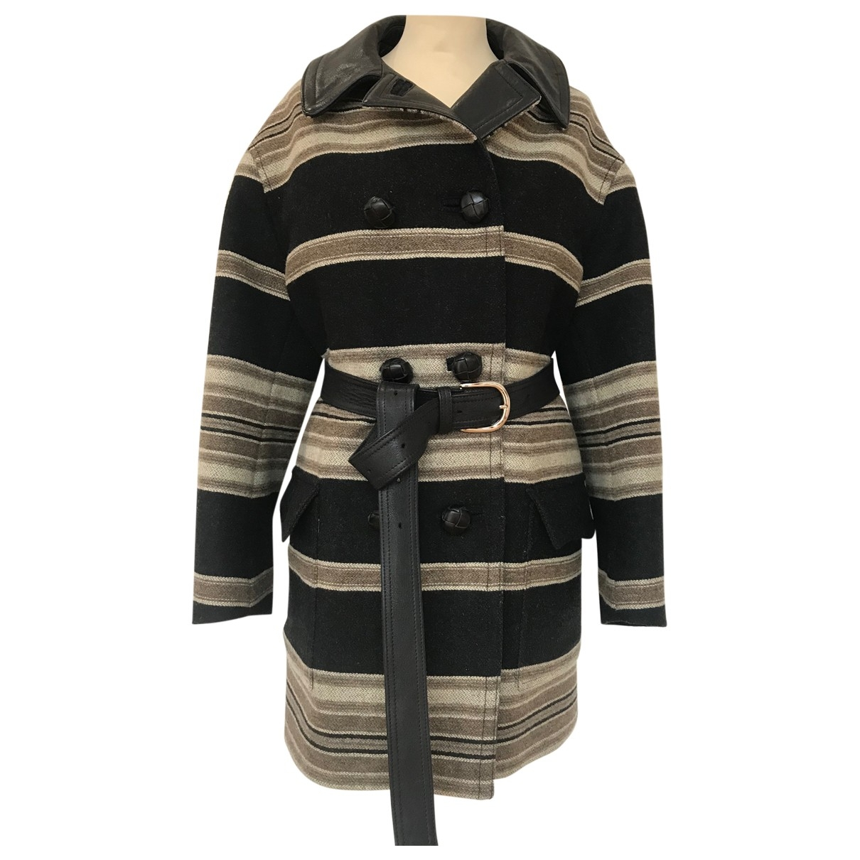 Isabel Marant - Manteau   pour femme en laine - noir