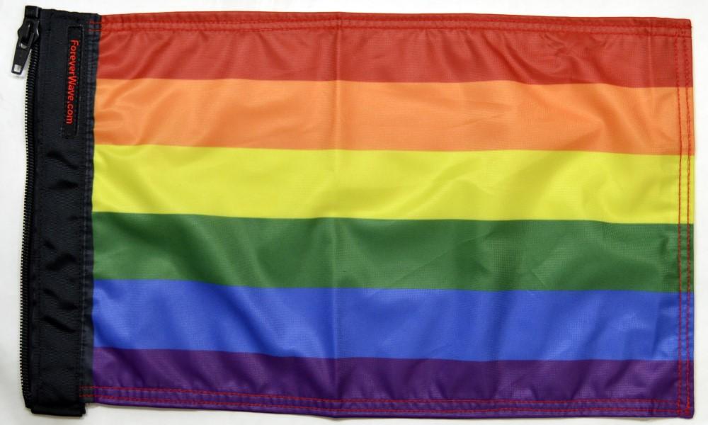 Forever Wave 5127 Rainbow Flag