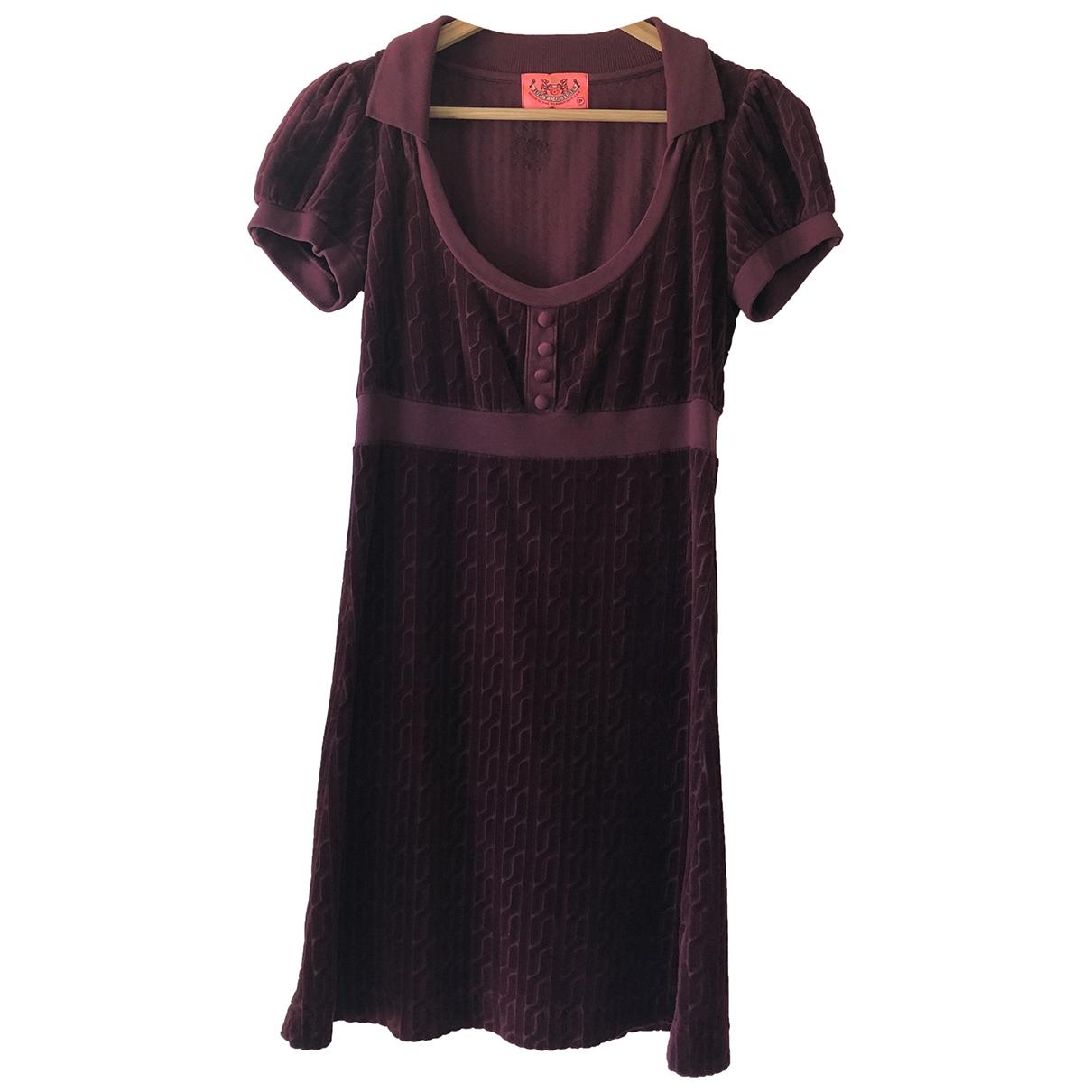 Juicy Couture \N Kleid in  Lila Baumwolle - Elasthan