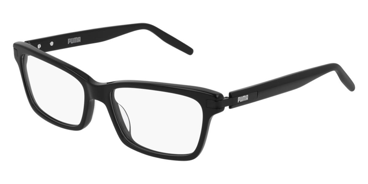 Puma PU0263O 001 Women's Glasses Black Size 53 - Free Lenses - HSA/FSA Insurance - Blue Light Block Available