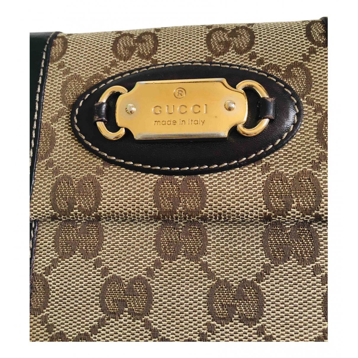 Gucci - Portefeuille Ophidia pour femme en toile - marron