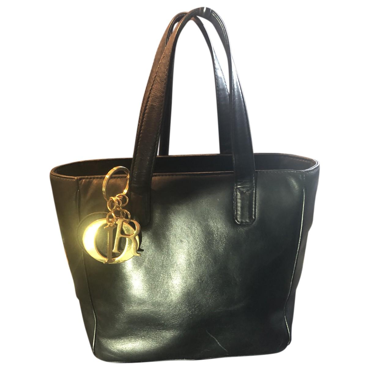 Dior N Black Leather handbag for Women N