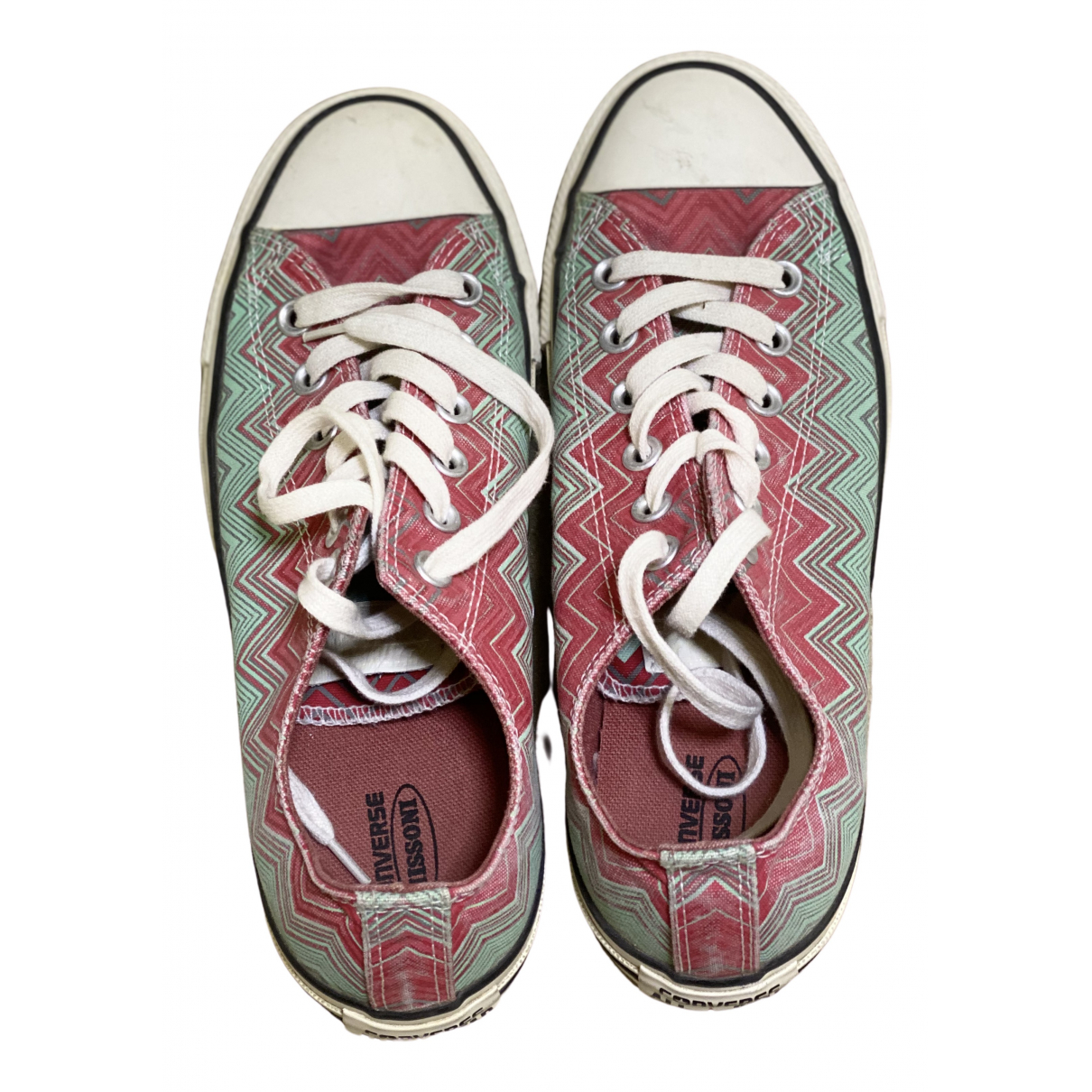 Missoni X Converse \N Sneakers in  Bunt Leinen