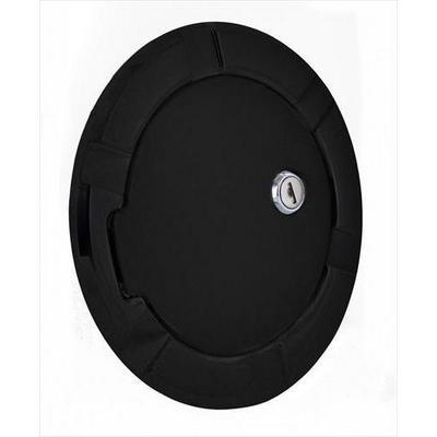 AMI Billet Fuel Doors (Gloss Black) - 6900GKL