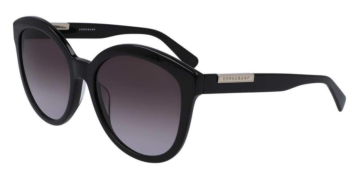 Longchamp LO671S 001 Women's Sunglasses Black Size 57
