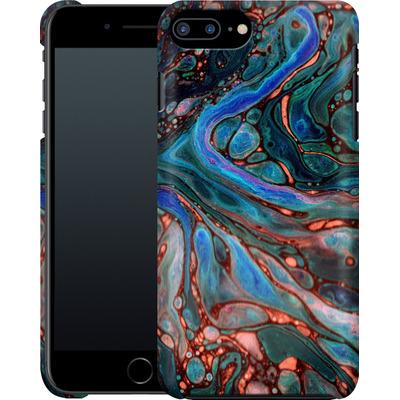 Apple iPhone 8 Plus Smartphone Huelle - Marbled Darkness von Amy Sia