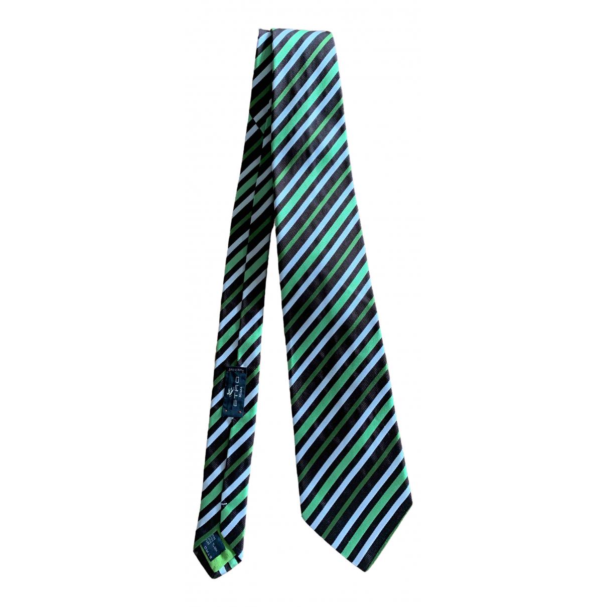 Etro \N Silk Ties for Men \N