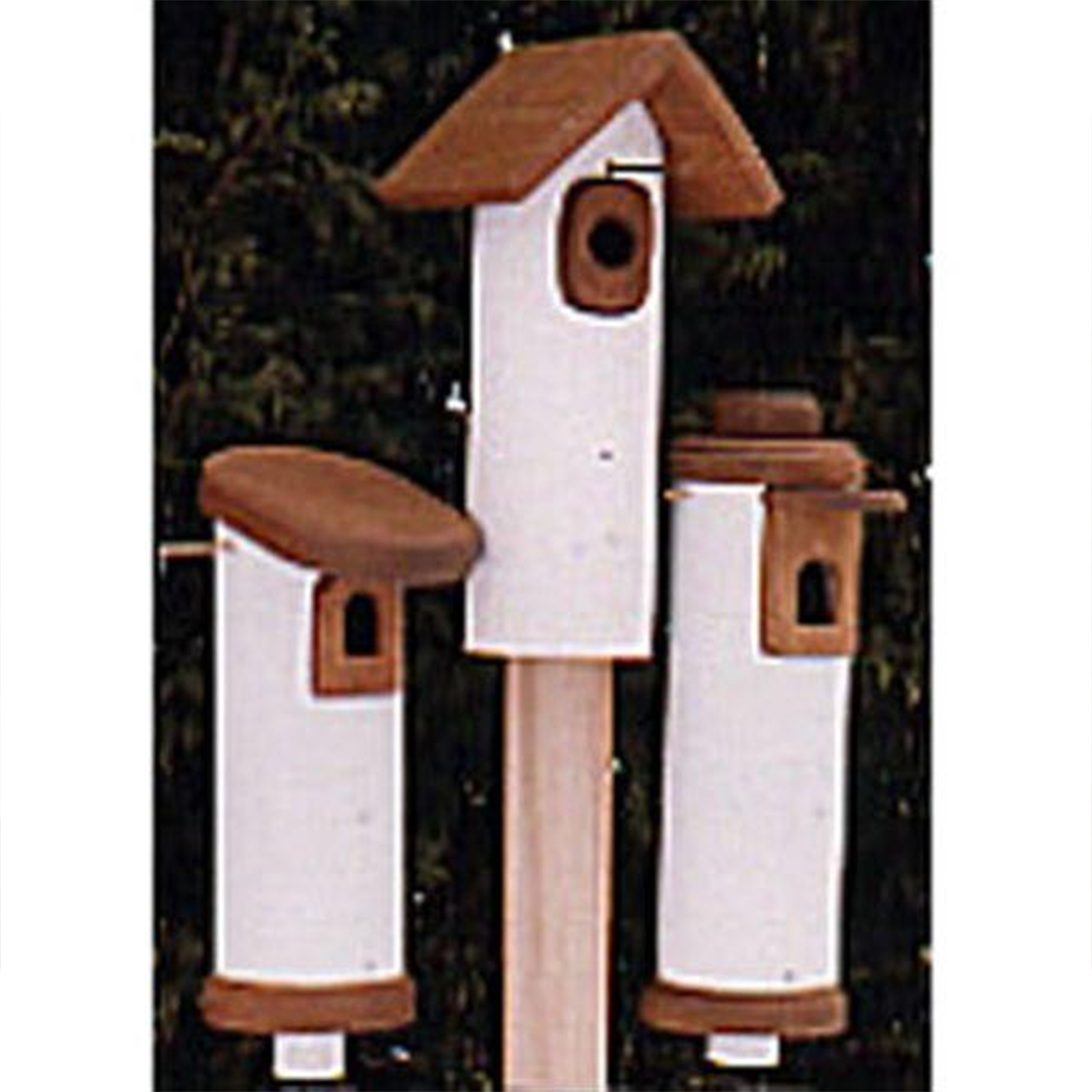 Woodworking Project Paper Plan to Build PVC Bluebird Houses