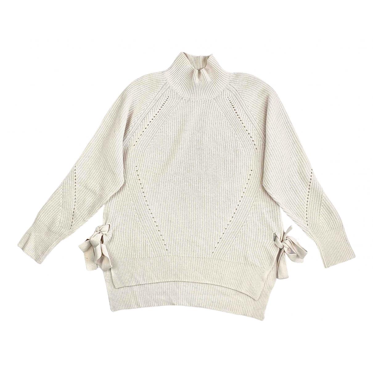 Rebecca Taylor N Ecru Cotton Knitwear for Women M International